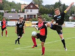 Fotbal dorost U 19, příprava Viktoria Plzeň x Liberec