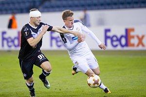 Fotbalisté Viktorie Plzeň po výkonu plném chyb prohráli v Lucernu v utkání Evropské ligy FC Luganu 2:3.