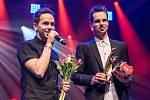 Vyhlášení hudební ankety Žebřík 2015 - skladbou roku je Katarze od skupiny Slza