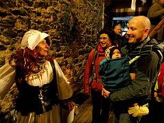 Zřícenina hradu Radyně se výjimečně otevřela o svátcích návštěvníkům.