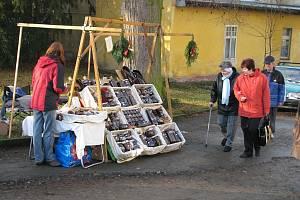 Adventní trh na zámku v Blovicích