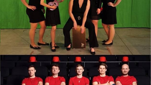Tutti Voci (nahoře) a Hlasoplet (dole) na Jazzu bez hranic.