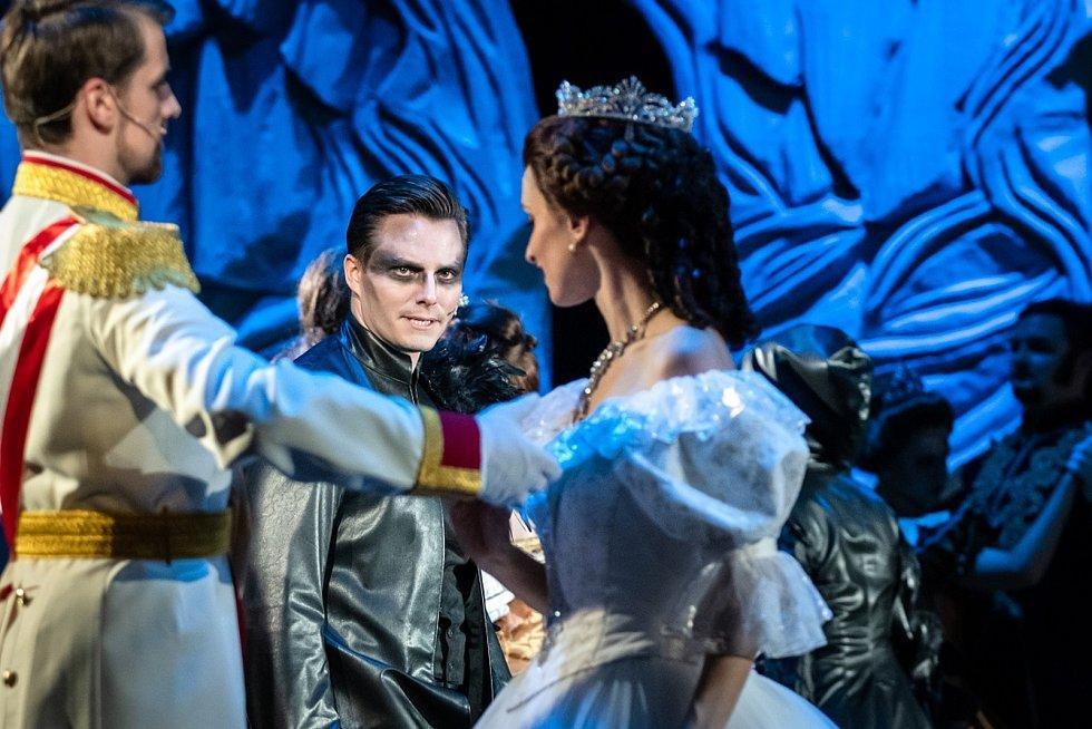 Z muzikálu Elisabeth v podání Divadla J. K. Tyla.