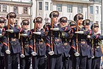 Drill fest na náměstí v Plzni