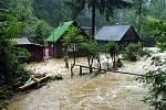 8. srpna 2002, chatová osada Tuleňů ve Šťáhlavicích