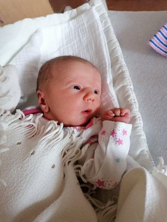 Nikola Nováková z Janovic nad Úhlavou se narodila v klatovské porodnici 12. května v 5:37 hodin (50 cm, 2880 g). Rodiče Hana a Michal věděli dopředu, že se jim narodí holčička. Na miminko se těší i jeden a půlletá sestřička Lucie. Tatínek Michal nechyběl