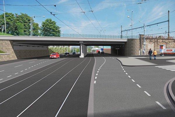 Tak bude vypadat prostor před hlavním vlakovým nádražím po rekonstrukci.