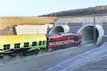 Ejpovický tunel. Ilustrační foto.