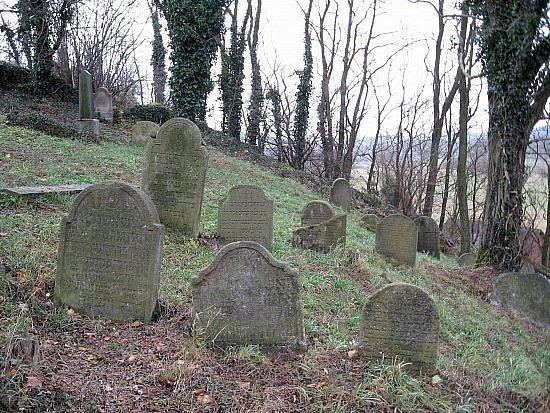 Židovský hřbitov vDolní Lukavici.