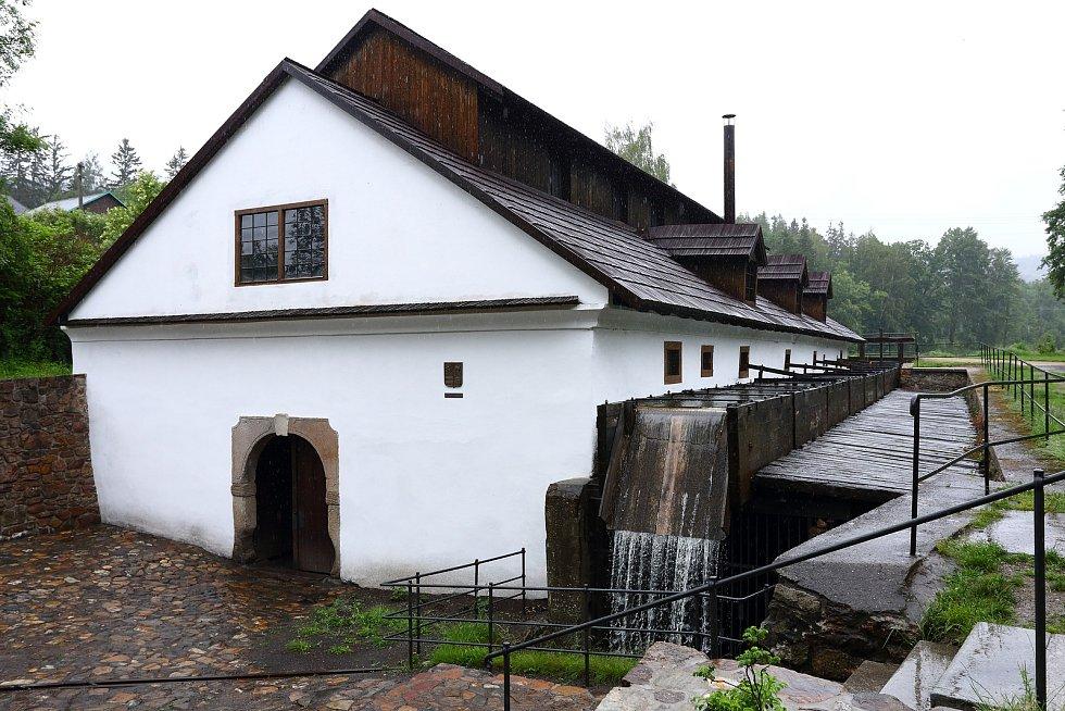 Vodní hamr v Dobřívě na Rokycansku.