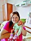 Štěpán Pešek se narodil 14. července ve 14:28 mamince Martině a tatínkovi Romanovi z Chotíkova. Po příchodu na svět v plzeňské FN vážil bráška Filipa 3080 gramů a měřil 51 cm.