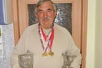 Josef Feiferlík je sportovní nadšenec, medaile má z národní házené i řeckořímského zápasu