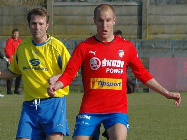 Záložník Viktorie Plzeň Daniel Kolář (vpravo) přispěl v sobotu dvěma góly k výhře Západočechů nad Baníkem Ostrava.