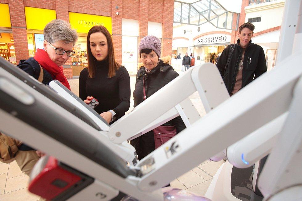 Plzeň - ukázka robota pro operace