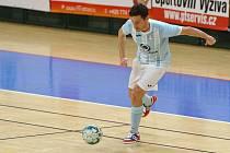 MISTR HATTRICK. Michal Holý vstřelil v pátek Žabinským Vlkům Brno tři góly, byl to jeho už třetí hattrick v této sezoně.