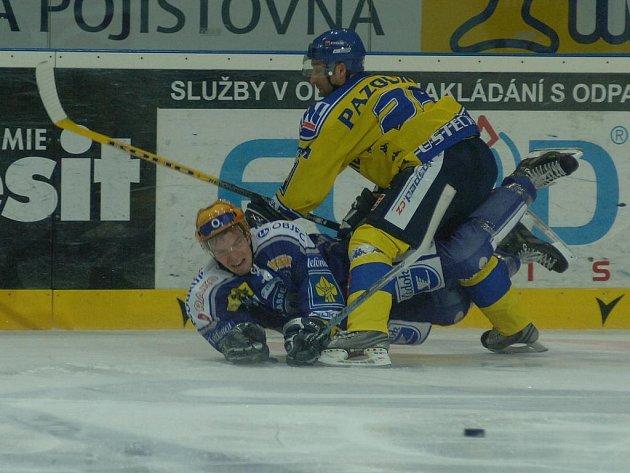 Extraligoví hokejisté Lasselsbergeru Plzeň porazili v ČEZ Aréně Ústí nad Labem 5:2