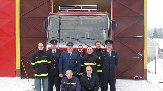 Výbor Sboru dobrovolných hasičů Pňovany