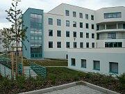 Nová Gynekologicko-porodnická klinika ve Fakultní nemocnici v Plzni.