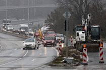 Rozšíření silnice mezi Plzní a Třemošnou (PS) se dokončuje.