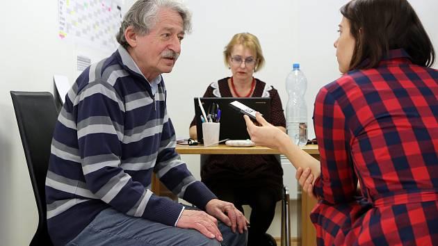 Oldřich Sojka vzpomínal na období odsunu své rodiny.