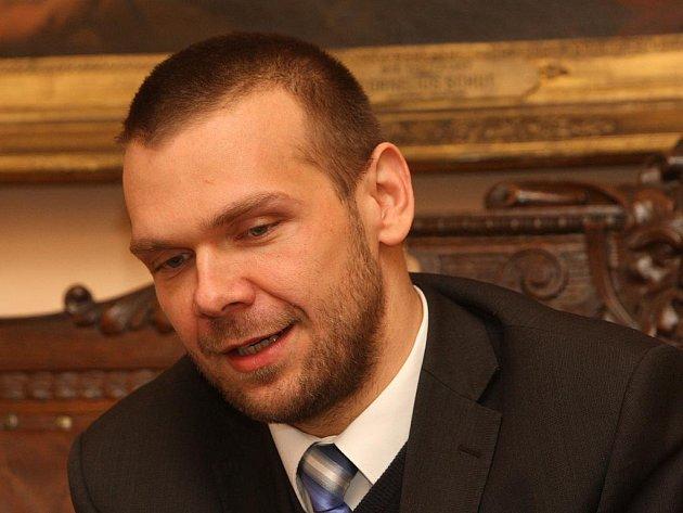 Plzeňský primátor Martin Baxa