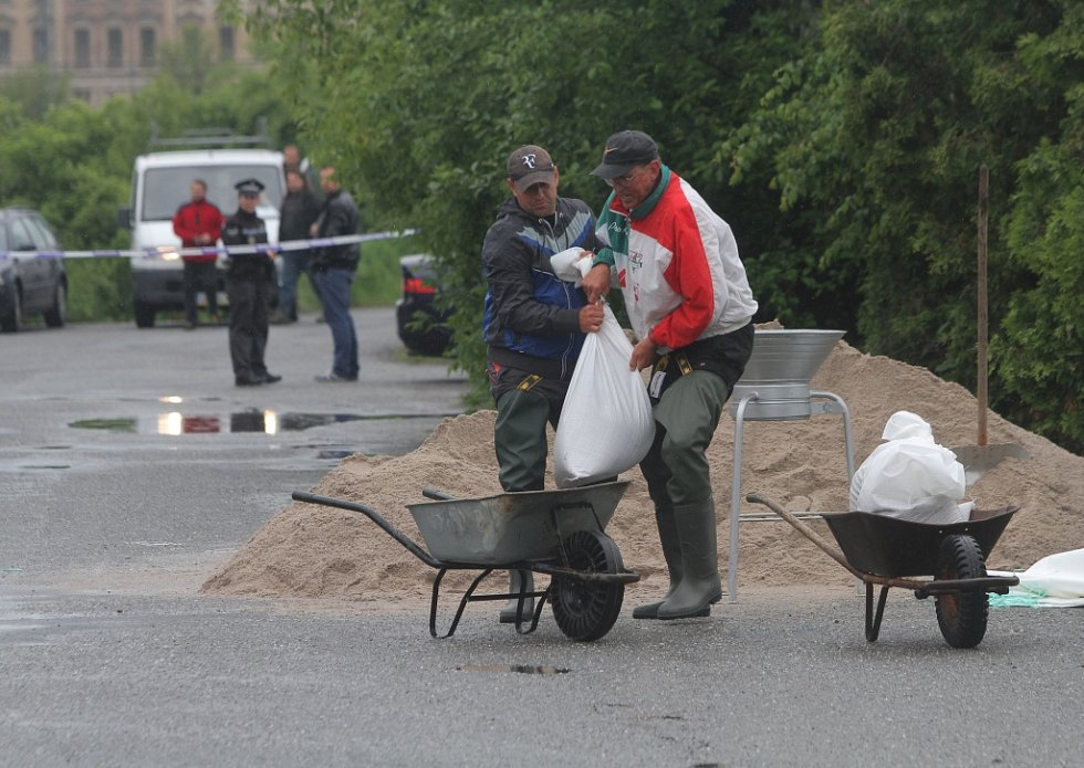 Povodeň v Plzni
