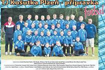 TJ Košutka Plzeň - přípravka