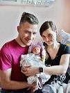 Patrik Korbel se narodil 25. ledna v 9:05 mamince Petře a tatínkovi Petrovi z Plzně. Po příchodu na svět v plzeňské FN vážil jejich prvorozený synek 2920 gramů a měřil 48 centimetrů.