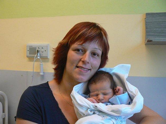 Čtyřletá Bety se už nemůže dočkat brášky, který se narodil 1. 12. v7.30 hod. ráno vMulačově nemocnici rodičům Kateřině a Karlovi Škardovým zPlzně. Honzík při narození vážil 3,70 kg a měřil 52 cm