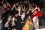 Vystoupení Semtexu přitáhlo na náměstí nejvíce diváků