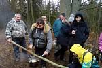 Každý Nový rok se obyvatelé z Kokořova i Žinkov, Prádla a popřípadě dalších obcích vypravují na společnou novoroční procházku.