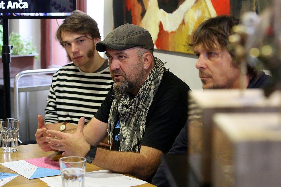 Tisková konference před začátkem festivalu Animánie