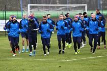 Trénink FC Viktoria Plzeň, zimní příprava