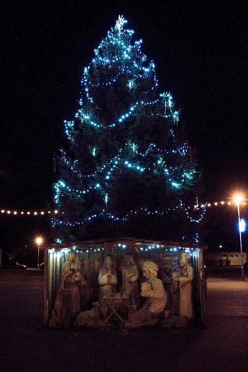 Vánoční strom v Nýrsku