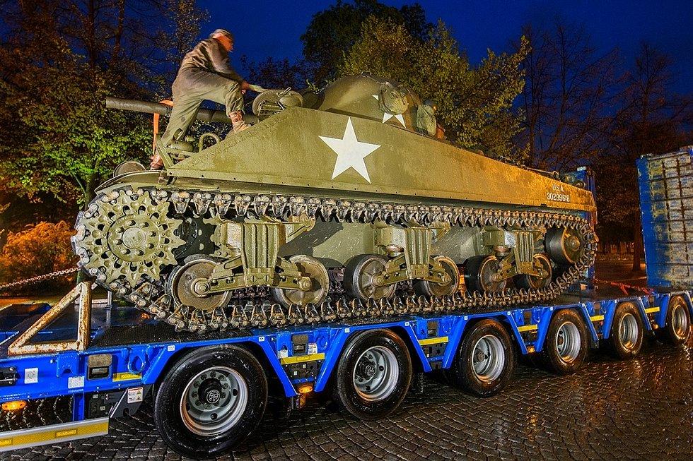 Přípravy na Slavnosti svobody.
