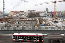 Výstavba divadla v Jízdecké ulici