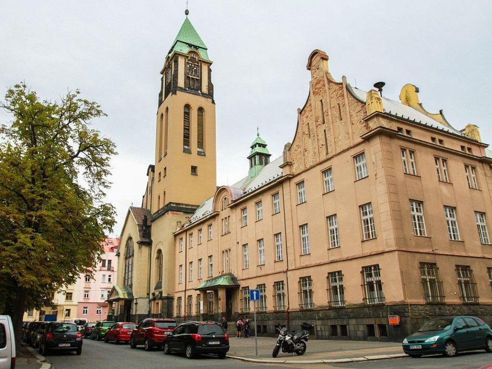 Kostel Panny Marie Růžencové v Plzni.