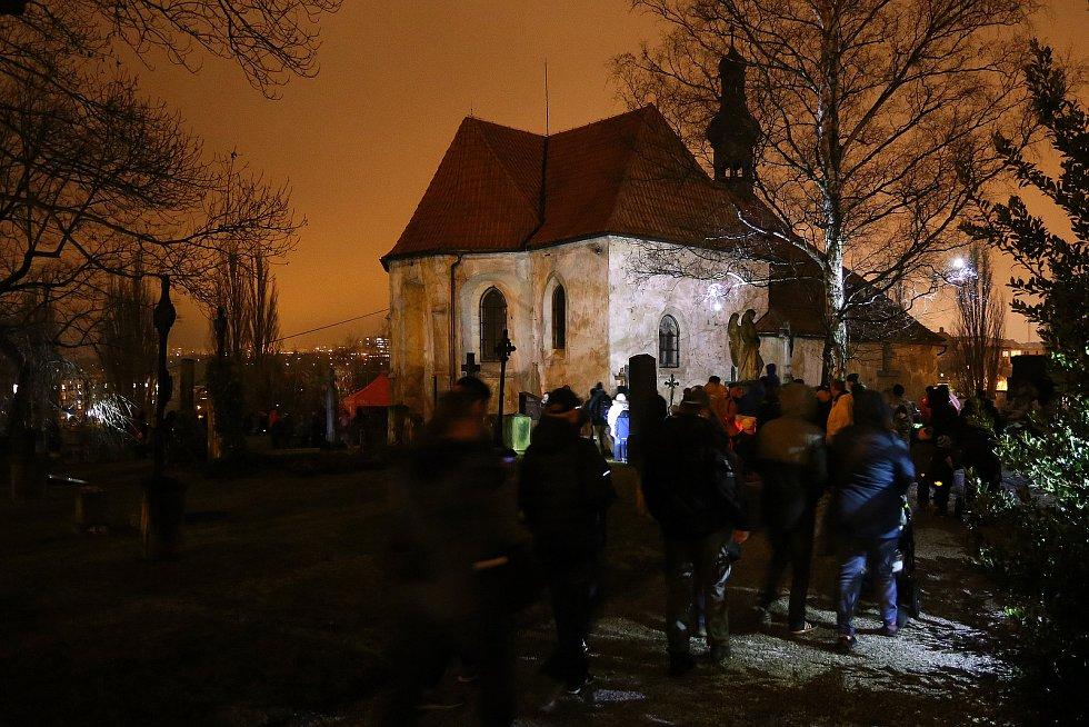 Blik blik festival světla - instalace městská část Slovany