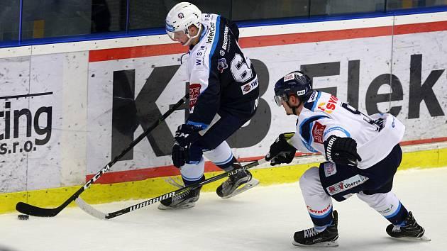 Hráči HC Škoda Plzeň hostili v neděli tygry z Liberce.