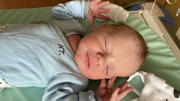 David Rajs z Domažlic se narodil v klatovské porodnici 30. dubna v 9:52 hodin (3230 g, 48 cm). Rodiče Andrea a David věděli dopředu, že se jim narodí chlapeček.