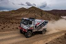 Tatra 815 přezdívaná FatBoy, s níž jedou Martin Kolomý a bratři René a David Kiliánovi, jede Dakar potřetí