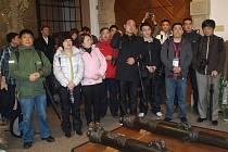 Zástupci čínských cestovních kanceláří si přijeli prohlédnout Plzeň