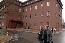 Budova porodnice v areálu FN Bory