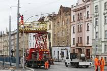 Rekonstrukce Borské ulice pokračuje.