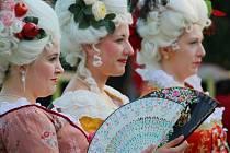 V rámci festivalu 9 týdnů baroka mohli lidé zavítat i na Barokní noc na zámku Kozel