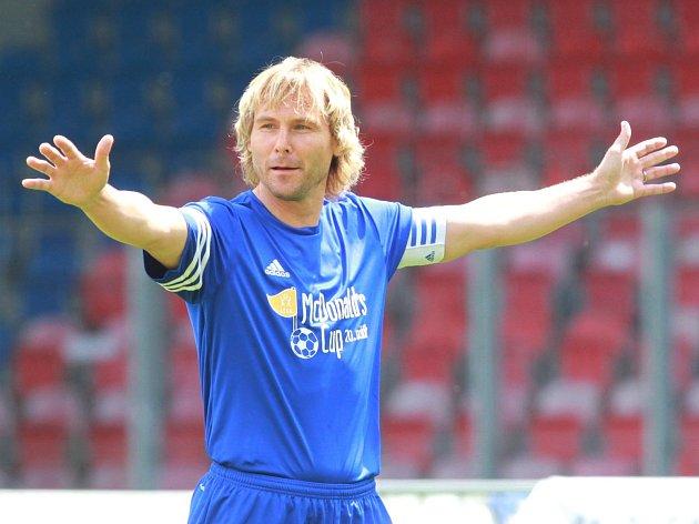 Pavel Nedvěd na McDonald's Cup v Plzni