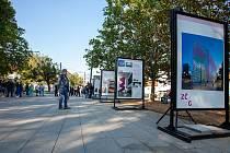 Z výstavy Cesta k nové budově Západočeské galerie v Plzni na místě bývalého domu U Zvonu. Foto: Jindra Radová