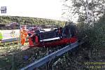 Nehoda na D5.
