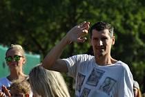 Marián Čišovský na charitativní akci Srdcovka