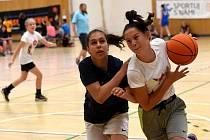 Nejpočetněji obsazená kategorie na Streetball Challenge byla děvčata do 14 let.
